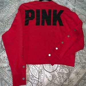 Victoria's Secret PINK cropped sweater